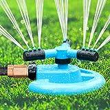 BOBOO Sprinkler, 360 Degree Rotating Lawn Sprinkler ,Large Area...