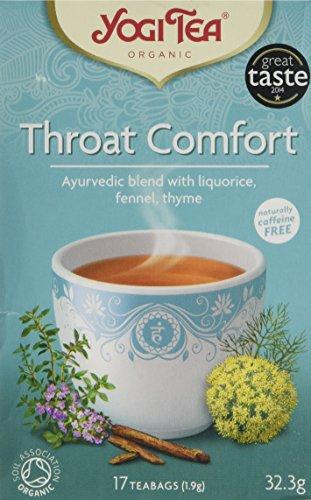 Yogi Tea Throat Comfort - Organic - 6 X 17 Bags