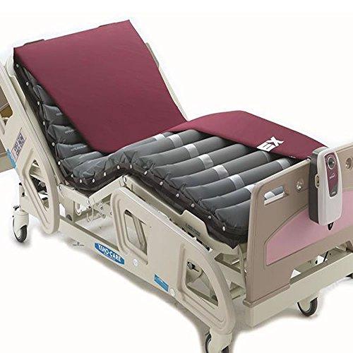 Colchón antiescaras con compresor Domus 2 de Apex | Dimensiones: 200 x 80 x 10,2 cm | Con regulador en función del peso del paciente (de 40 a 140 kilos)