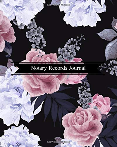 Notary Records Journal: Official Notary Journal  Public Notary Records Book Notarial acts records events Log Notary Template  Notary Receipt Book – Paperback