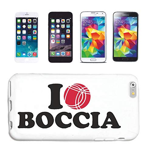 Reifen-Markt Handyhülle kompatibel für HTC M8 I Love Boccia Kugeln Boccia Regeln Spieler Spielerin Hardcase Schutzhülle Handy Cover Smart Cover