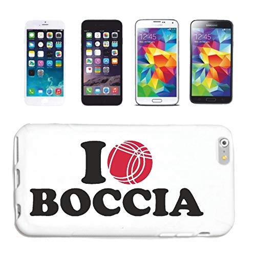 Helene Handyhülle kompatibel für Samsung Galaxy S5 I Love Boccia Kugeln Boccia Regeln Spieler SPIELERINHardcase Schutzhülle Handycover Smart Cover