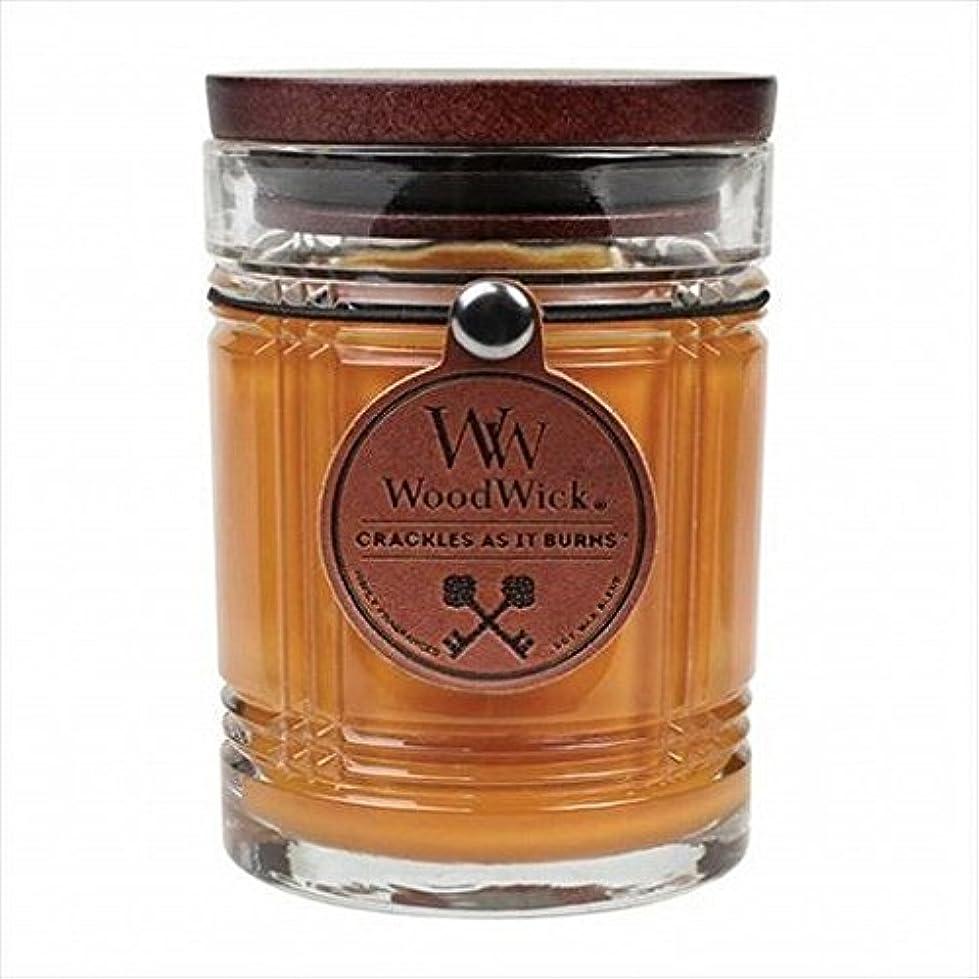 WoodWick(ウッドウィック) WoodWickリザーブジャー「 レザー 」 キャンドル 85x85x115mm (W924051007)