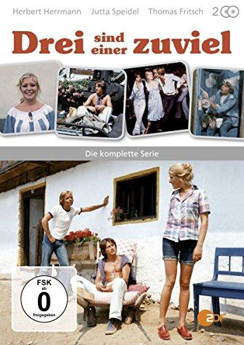 Drei sind einer zuviel - Die komplette Serie [2 DVDs]