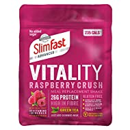 Discover a holistic way to lose weight, helping you feel great inside and out The unique SlimFast Advanced Vitality shake recipe is made with selected ingredients to support your metabolism and reduce tiredness and fatigue Packed with 26g of protein,...