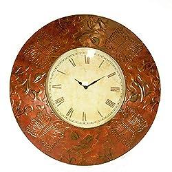 Benzara Antique Metal Wall Clock