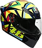 AGV K1 Casco Moto, Adultos Unisex, Rossi, ML (58)