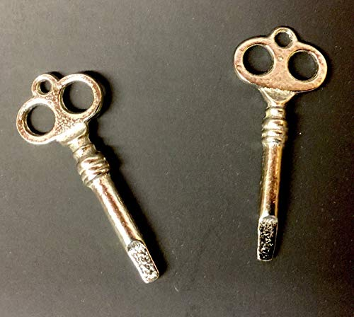 Pair of Triangle Tip Lock Keys for Upright Vertical Piano