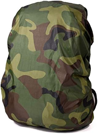 RKPM HOMES Waterproof Storage Backpack Rain Cover Pack Cover for Hiking Camping Traveling Digital Pattern dust Cover (30-40 L Army Green Camouflage)