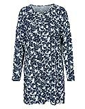 BASEFIELD Homewear Nachthemd - Bleu Melange