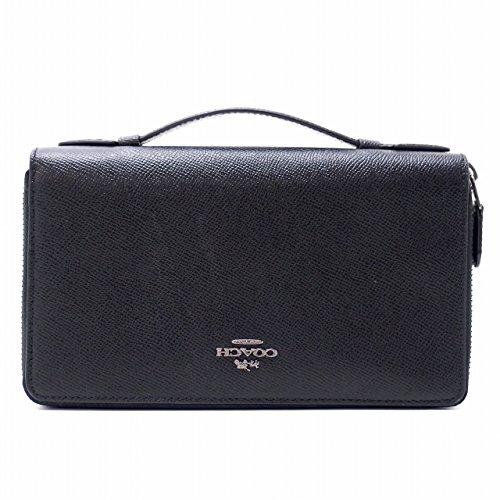 [コーチ] COACH メンズ セカンドバッグ COACH 財布 クラッチバッグ 長財布 パスポートケース 23334BLK [アウトレット品] [並行輸入品]