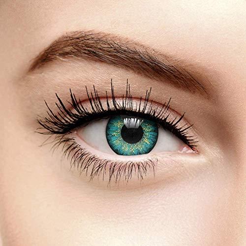 Chromaview Mystic Farbige Kontaktlinsen Ohne Stärke Türkis (90 Tage)