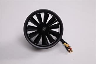 FMS 64mm 11 Blade Ducted Fan with Outrunner Brushless 2840 3150KV Motor For RC AIirplane EDF 4S