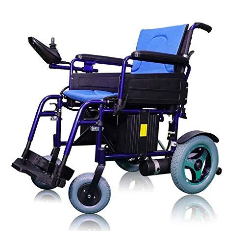 Yeeseu. Medizin und Rehabilitation Stuhl, Rollstuhl, Elektro-Rollstuhl, Intelligent E-Folding Leicht Carry Durable Elektro-Rollstühle for Behinderte Ältere im Freien Komfortabler Rollstuhl Elektroroll
