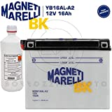 BATTERIA MOTO 16AH 12V YB16ALA2 MAGNETI MARELLI DUCATI, YAMAHA