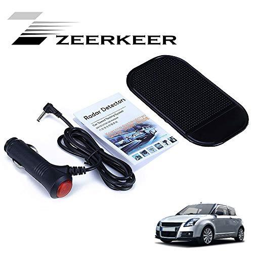 Zeerkeer Elektronischer Radar-Detektor, allgemeine Autos Modelle Geschwindigkeit V3 Auto Radarmelder, Zwei Modi City/Highway Support X K Ka Ku VG-2 Band Support Englisch und Russisch