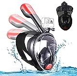 ZONSUSE Máscara de Buceo,Mascara de Snorkel,180° Panorámica Gafas...