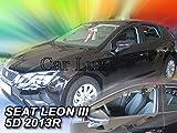 Car Lux NAR03978 - Derivabrisas Deflectores de Viento Delanteros