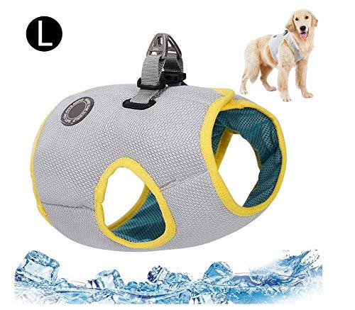 LLDKA Refrescante Capa del Perro del Chaleco de refrigeración para la Chaqueta Perro Perros para Perros Grandes Promedio De Pequeñas y,XL