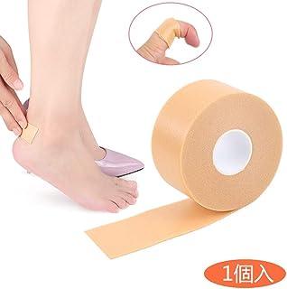 靴ずれ予防テープ 靴擦れ防止 靴ズレ防止 かかと パッド フットヒールステッカーテープ 防水素材 粘着 かかと パッド テープ 足痛み軽減 耐摩耗 痛み緩和 伸縮性抜群長時間歩行も安心 自己粘着仕様 通気 男女兼用