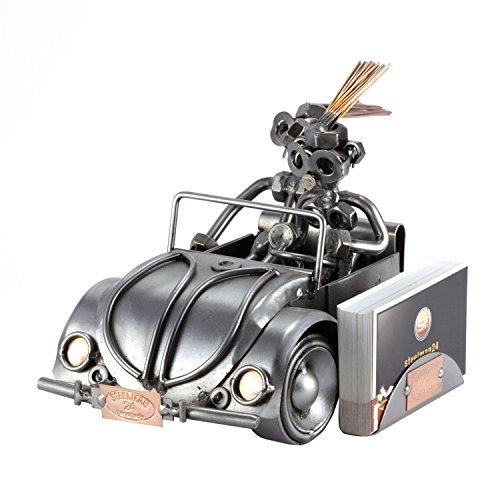 Steelman24 I Profesor De Autoescuela con Portatarjetas De Visita con Grabado Personal I Made in Germany I Idea para Regalo