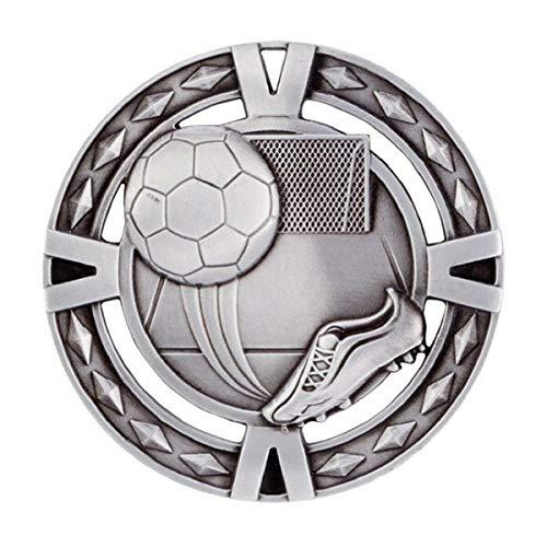 Emblems-Gifts - Medalla de balón y bota de fútbol con grabado personalizado...