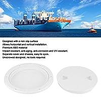 デッキプレート、ボート用の白い丸い密閉デッキ検査カバー