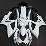 ZXMOTO Unpainted Motorcycle Fairing Kit for 06 07 Suzuki GSXR 600 /GSXR 750 K6 2006 2007