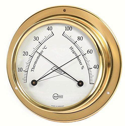 Barigo Instrumente Serie Tempo Thermometer/Hygrometer 110 mm