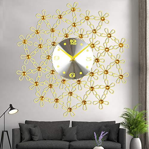 Horloge murale Salon Contemporain Et Sous-traitance Europe Type Originalité Vogue Décore La Chambre Horloge Horloge Quartz Calme Montre Mur