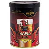 Mr. Beer 60975 Diablo IPA 2 Gallon Craft Beer Refill Kit, Contains Hopped Malt Extract Designed for Consistent, Simple and Efficient Homebrewing