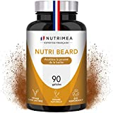 NUTRI BEARD+ !! 1ER ACCELERATEUR DE POUSSE DE BARBE FRANÇAIS !! FORMULE UNIQUE ET DOSAGE OPTIMAL POUR 100% EFFICACITE * Ingrédients 100% naturels * 90 gélules d'origine végétale * Satisfait Ou Remboursé!