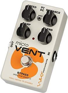 Neo Instruments MICRO VENT 16 ロータリースピーカーシミュレーター コンパクト ホワイト Vibratone ギターレスリー【国内正規品】