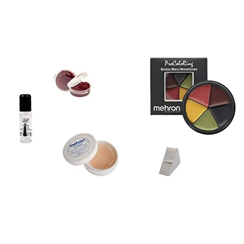 Mehron Special Effects Kit Accident Victim Make Up Sfx No Oversea S Shipping