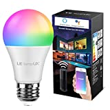 LE Lampadina LED Intelligente E27 9W Alexa, Smart Lampadine LED RGBW WiFi, Luce Dimmerabile RGB +...