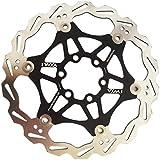 """Disco del freno per bicicletta MTB DH per catena da 160mm 6"""", nero..."""
