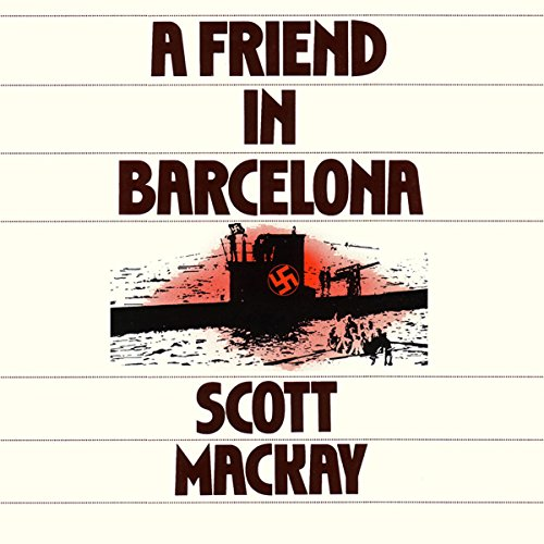 A Friend in Barcelona audiobook cover art