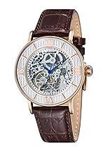 Thomas Earnshaw Herren-Armbanduhr Thomas Earnshaw Darwin Watch ES-8038-03 Analog Automatik Leder Braun ES-8038-03