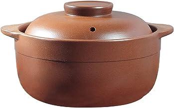 Kookpot Kookgerei, Keramische Soeppan, Soeppan Stoofpan Braadpan Klei Pot Aarden Pot Gezonde Stoofpot, Keramiek met Deksel...