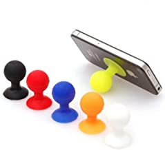 Silicone Mobile Phone Holder Suction Cup Silicone Octopus Ball Suction Cup Octopus Bracket Ball Suction Cup [Random Color Three Packs]