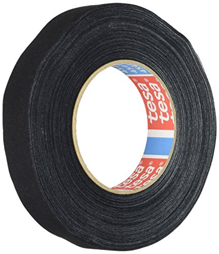 TESA 04541-00015-00 Gewebeband 4541 schwarz 25mm x 50 Meter