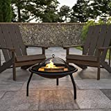 Flash Furniture YL-230-GG Outdoor Firepits, 22.5...