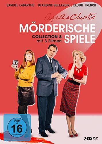Agatha Christie: Mörderische Spiele - Collection 8 [Alemania] [DVD]
