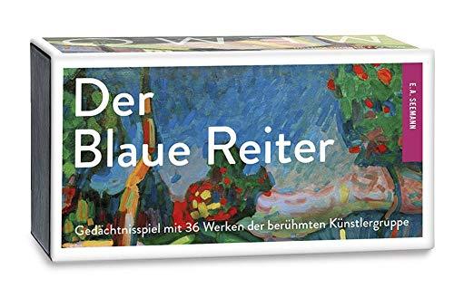 Der Blaue Reiter. Memo: Gedächtnisspiel mit 36 Werken der berühmten Künstlergruppe