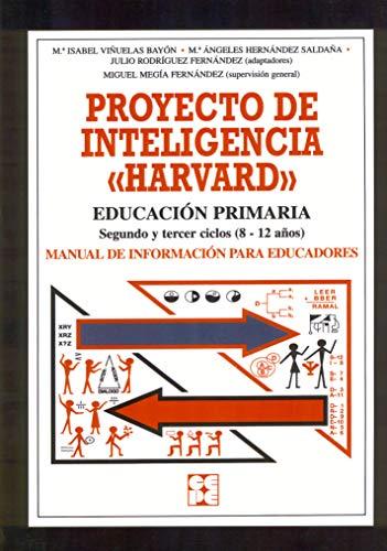 Proyecto de inteligencia harvard. Primaria. Manual (Programas Intervencion Educati) - 9788478693337: 5.6 (Estrategias para aprender)