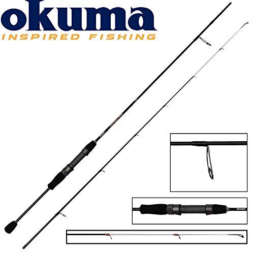 Okuma Light Range Fishing UFR 185cm 1-7g Spinnrute, leichte Spinnruten für Barsch & Forellen, Ultraleicht Rute, Ultralight Angelrute, leichtes Spinnfischen