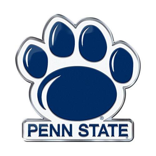 FANMATS Penn State Heavy Duty Aluminum Color Emblem, Blue, One Size