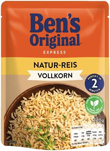 Ben\'s Original Express-Reis Naturreis, 6 Packungen (6 x 220g)