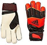 adidas Torwarthandschuhe Predator Fingersave Junior - Guantes de Portero para fútbol, Color Rojo, Talla 8 cm