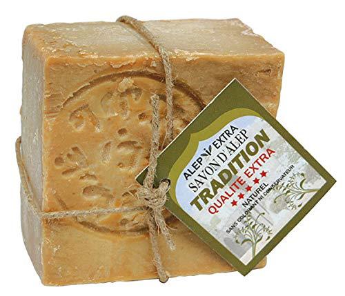 Seife Original Aleppo Art Tradition Qualite Extra 4% Lorbeeröl - 200 g